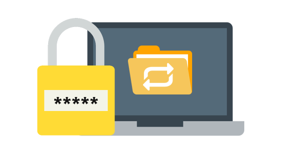 access your files securely