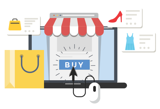Sell Products through Shopping Cart